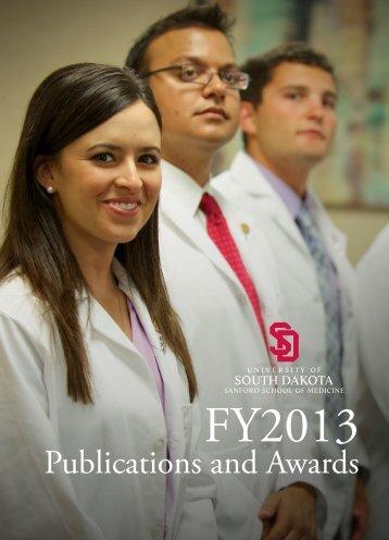 Publications and Awards - University of South Dakota