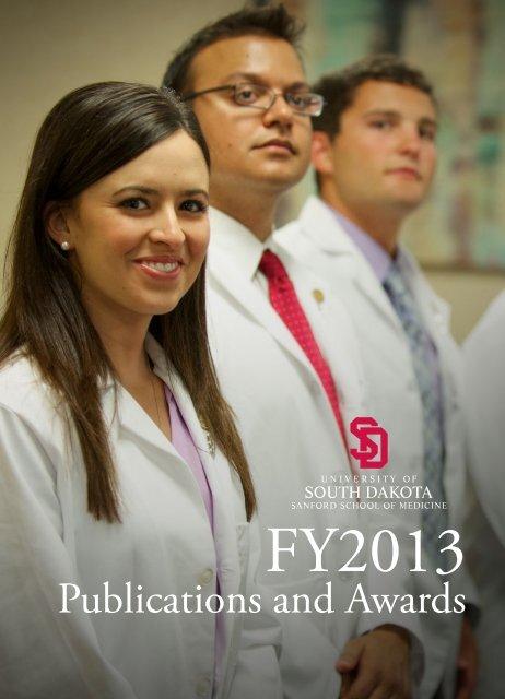 Publications And Awards University Of South Dakota