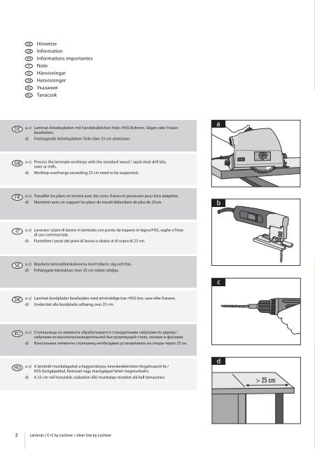 Montageanleitung Laminat+CS 2010u.indd - Xkitchen24.com