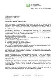 Kommentar til HUR's Forslag til Trafikplan 2003 - Solrød Strands ...