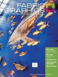 Fabric Graphics, March April 2009, Digital Edition - Specialty Fabrics ...