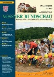 Juli 2010 - Nossner Rundschau
