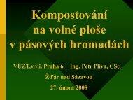 Ing. Petr Plíva, CSc.