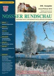248. Ausgabe Januar/Februar 2010 - Nossner Rundschau