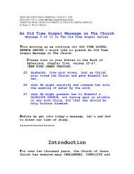 The Church - Christian Hope Church Home