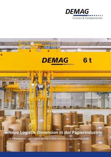 Neue Logistik-Dimension in der Papierindustrie (PDF | 1,2 MB )