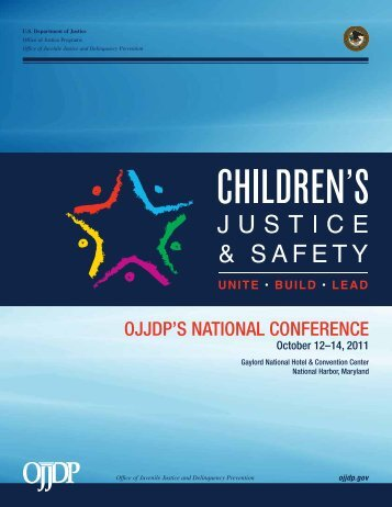 OJJDP National Conference Program - Office of Juvenile Justice ...