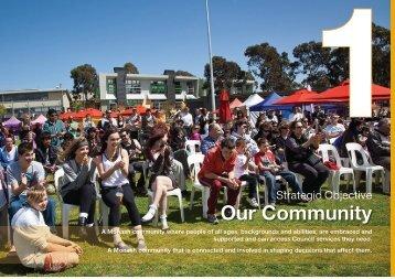 Annual Report 2011 - 2012: Part 2 - City of Monash