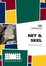 Sep. 131 - Foreningen af Hegnsyn i Danmark