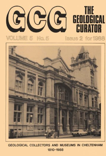 Number 5 - Geological Curators Group
