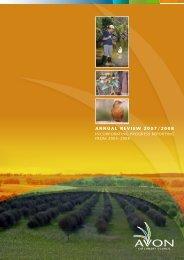 annual review 2007/2008 - Wheatbelt NRM