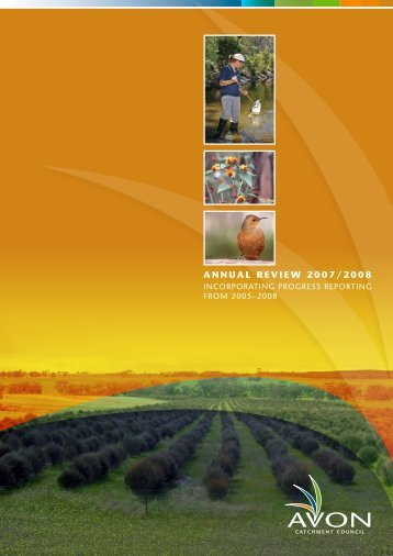 annual review 2007/2008 - Wheatbelt NRM
