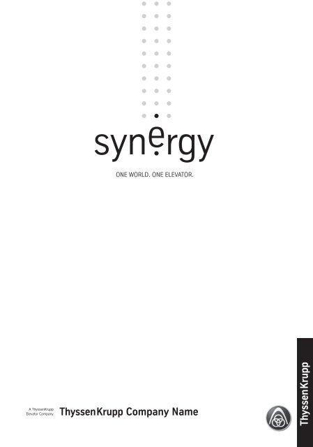 PDF (1,6MB) - ThyssenKrupp-Elevator rs