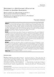 Usability of Assessment Instruments - UERJ