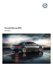 Umwelterklärung 2012 Werk Dresden (1,6 MB ... - Volkswagen AG