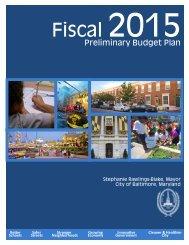 2015 Preliminary Budget Book