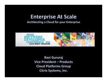 Enterprise At Scale