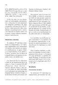 Bajo polimorfismo en el sistema de antígenos de leucocitos ... - Page 4