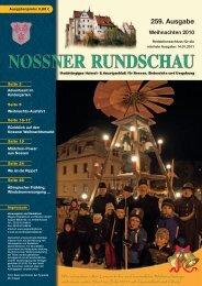Weihnachten 2010 - Nossner Rundschau