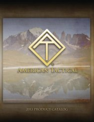 2013 PRODUCT CATALOG - American Tactical Imports