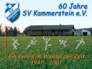 16. Juni 2007 - SV Kammerstein
