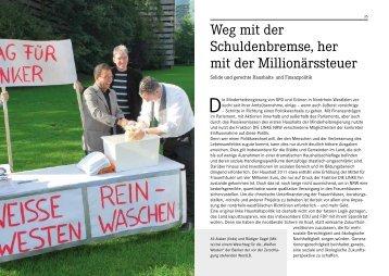 Weg mit der Schuldenbremse, her mit der ... - Die Linke NRW
