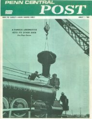 August 1968 - Unlikely Penn Central Railroad
