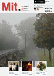 Das Magazin für die Gemeinden - Mitteilungsblatt