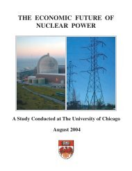 THE ECONOMIC FUTURE OF NUCLEAR POWER - Eusustel.be
