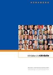Branchen- und Firmenverzeichnis 2007 - Stadt Nürnberg