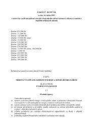 ZÁKON Č. 18/1997 SB. ze dne 24. ledna 1997 o mírovém využívání ...