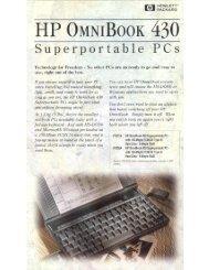Omnibook 430 - 1000 BiT