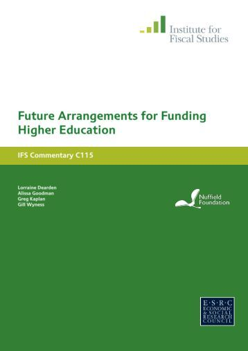 Download full report (PDF) - Nuffield Foundation