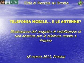 Incontro del 18 marzo 2013 a Presina (pdf) - Comune di Piazzola sul ...