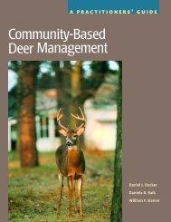 Community-Based Deer Management - Wildlife Control Information
