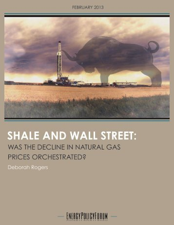 SHALE AND WALL STREET: - Warren Business Consulting