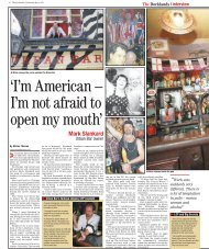 'I'm American – I'm not afraid to open my mouth' - PageSuite
