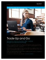 Trade Up and Go - GovConnection
