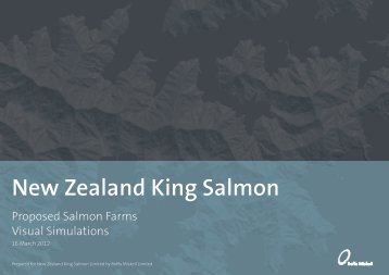 Proposed Salmon Farms Visual Simulations