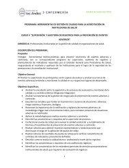 Unidad de Extensión 2013 1 PROGRAMA - Universidad de los Andes