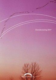 Migrationsverkets årsredovisning 2007