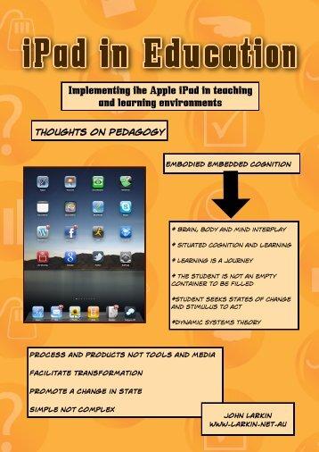 iPad ~ Presentation Notes - John Larkin