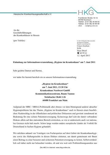 Brief - mit Briefkopf - VdPK