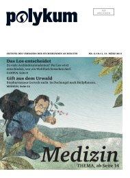 Medizin tHEMA, ab Seite 14 - VSETH - ETH Zürich