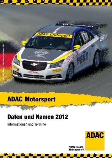 Event 2012 - ADAC Ortsclub-Portal