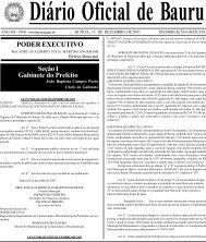 Plano Municipal de Meio Ambiente (Bauru - SP) - Secretaria do ...