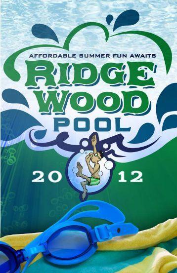 2012 Green Book - Ridgewood Pool