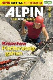 Broschüre Klettersteiggehen - Deutscher Alpenverein