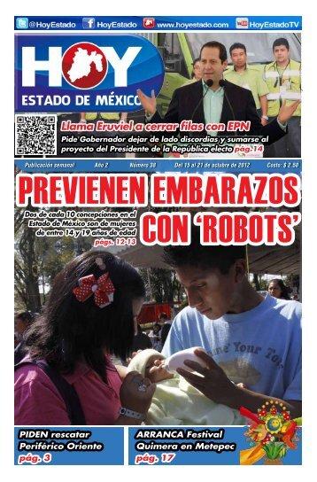 Llama Eruviel a cerrar filas con EPN - HOY Estado de México