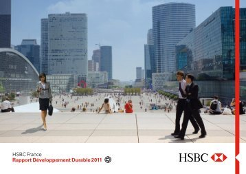 Rapport Développement Durable de HSBC France - e-accessibility